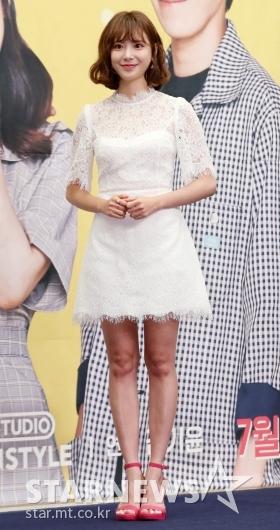 [★포토]김다예, '러블리한 시스루 원피스'