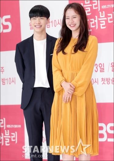 [★포토]이기광-송지효, '닮은 미소'