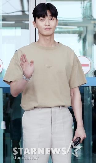 [★포토]박서준, '포상휴가 잘 다녀올게요'