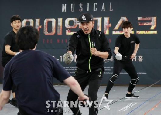 [★포토]김영호, '연습도 실전이다'