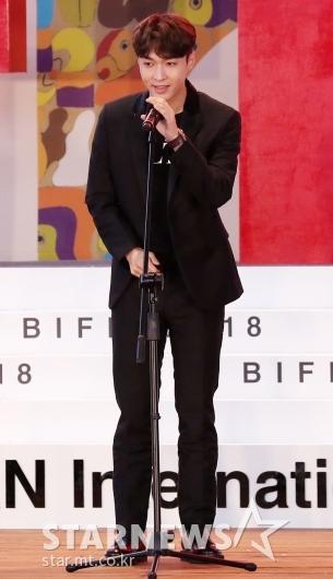 [★포토]레이, 영화배우로 'BIFF' 참석