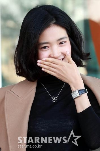 [★포토]'단발' 김태리, '알아보시겠나요?'