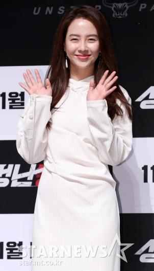[★포토]송지효, '꾸밈없는 미소 활짝'