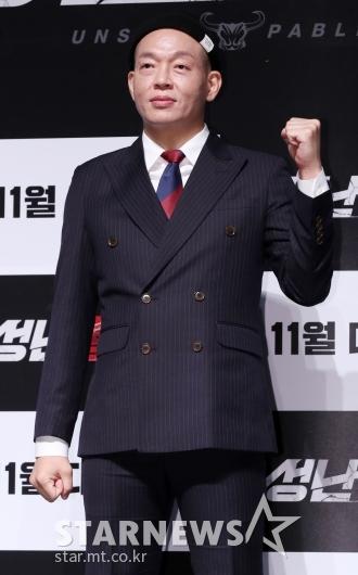 [★포토]박지환, '수트에 비니'