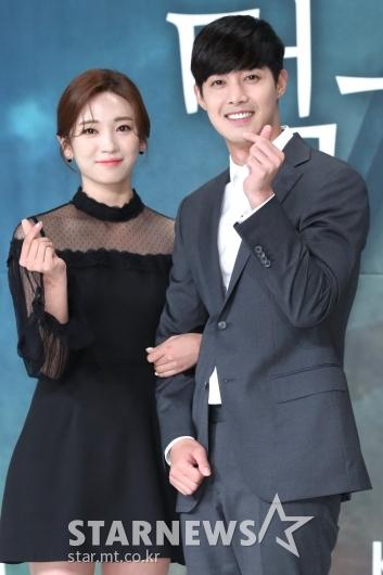 [★포토]안지현-김현중, '많이 사랑해주세요'