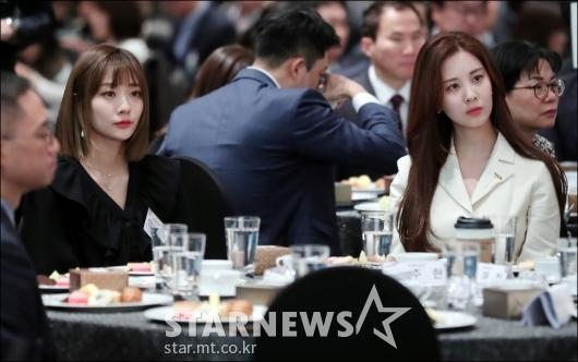 [★포토]안지영-서현, '우아한 미모 대결'