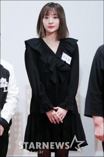 [★포토]안지영, '단아한 블랙 패션'