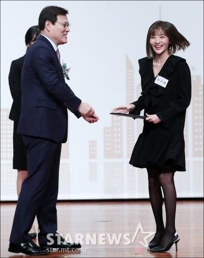 [★포토]안지영, '금융의 날' 금융위원장 표창