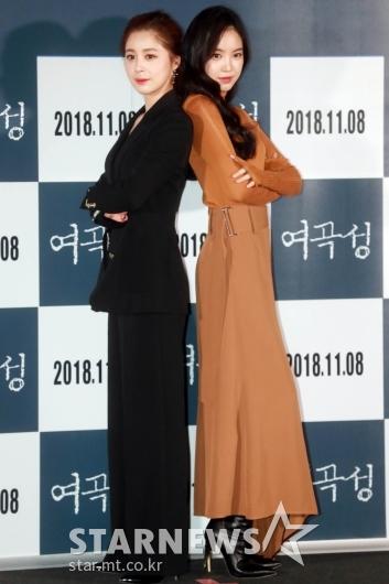 [★포토]서영희-손나은 '두여자의 맞대결'