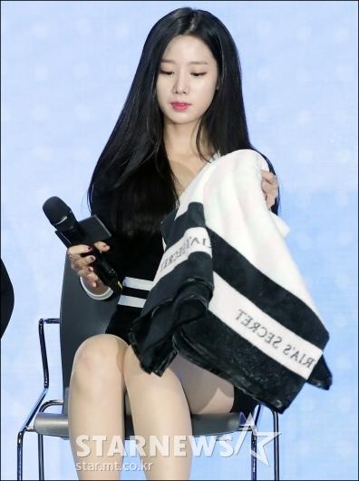 [★포토]조현, '짧은 원피스에 담요는 필수!'