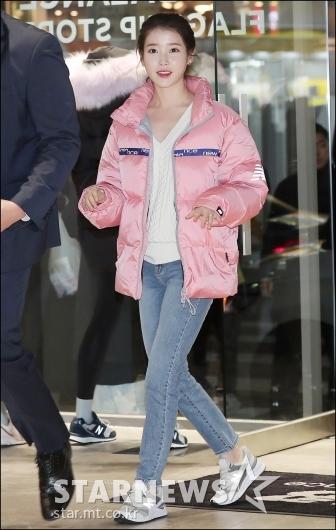 [★포토]아이유, '깜찍한 겨울 패션'