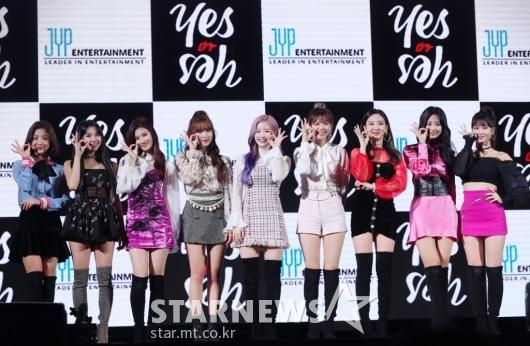 [★포토]트와이스, 'YES or YES'로 컴백