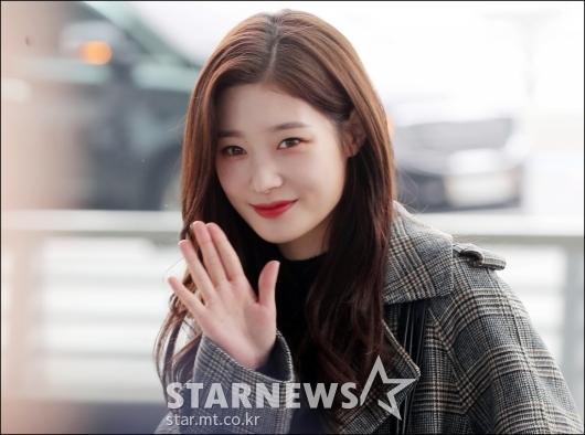 [★포토]정채연, '청순 미모 끝판왕'