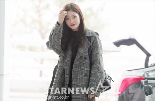 [★포토]정채연, '놀라운 실물 미모'