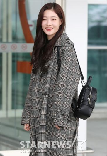 [★포토]정채연, '실물 미모에 깜짝'