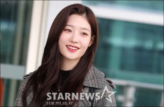 [★포토]정채연, '보는 사람 미소짓게 만드는 미소'