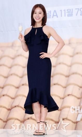 [★포토]유리, '아름다운 밀착 드레스'