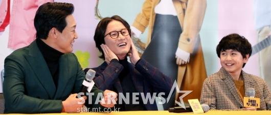 [★포토]박성웅-최로운, '실제 부자지간 같은'