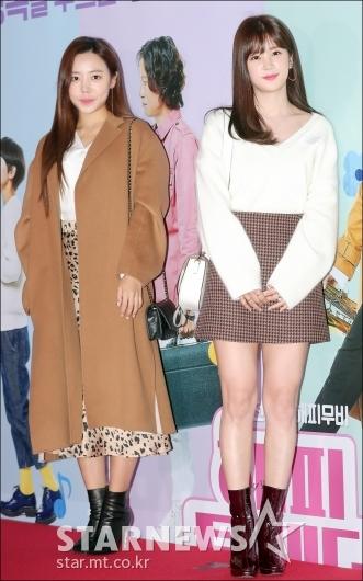 [★포토]김남주-박초롱, '눈부신 미모'