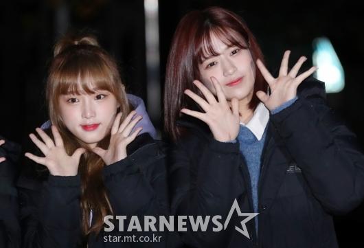 [★포토]최예나-안유진, '꽃미모 활짝'