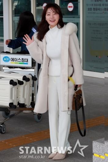 [★포토]송하윤 '잘 다녀올게요'