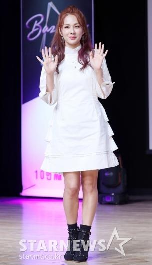 [★포토]채연, '화사한 화이트 미니원피스'