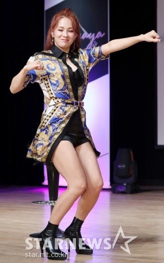 [★포토]채연, '오랜만에 보는 나나나 안무'