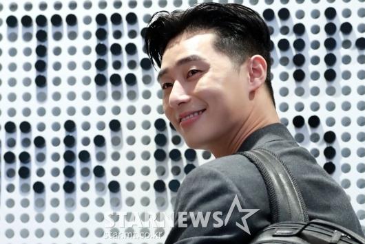 [★포토]박서준 '웃음꽃 활짝'