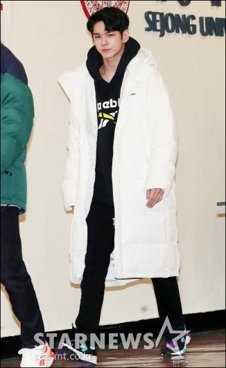 [★포토]옹성우, '옹비드의 발걸음'