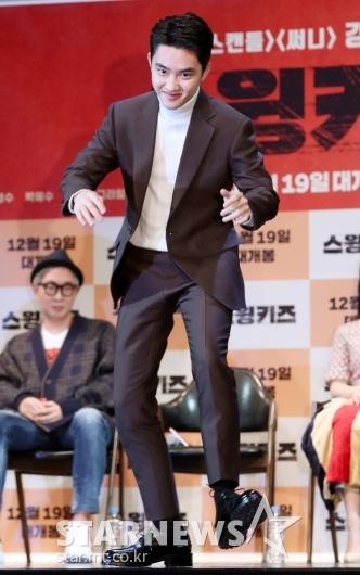 [★포토]도경수, '즉석에서 탭댄스 공연'