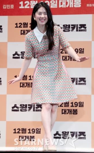 [★포토]박혜수, '수줍게 탭댄스 포즈'
