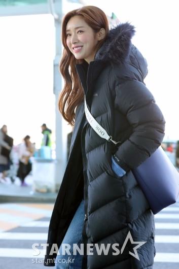[★포토]차정원 '겨울에도 화사하게'