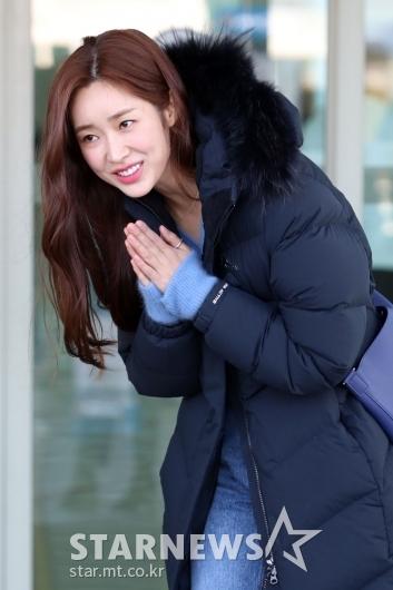 [★포토]차정원 '잘다녀올게요'