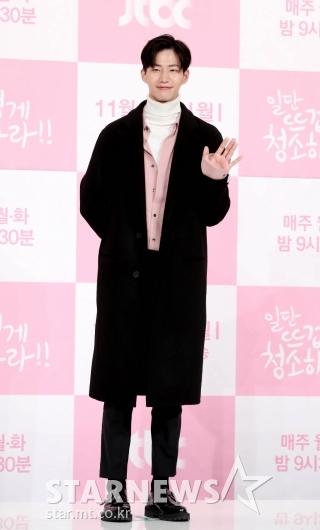 [★포토]송재림, '반가워요'