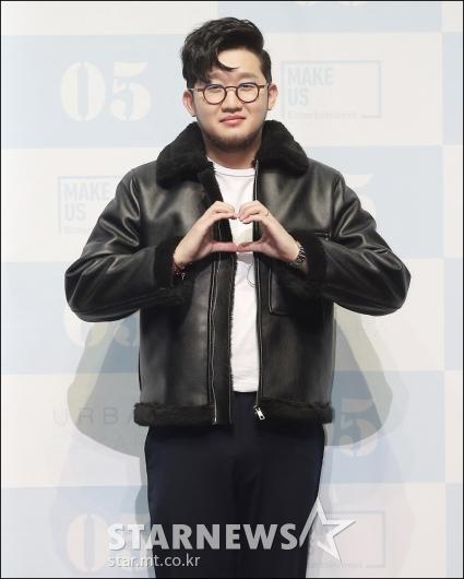 [★포토]박용인, '시크한 하트'