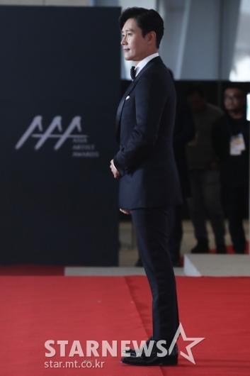 [★포토]이병헌, 'AAA 왔습니다'