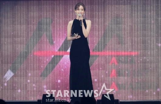[★포토]윤아, 'AAA 아시아 트렌드 상 수상'