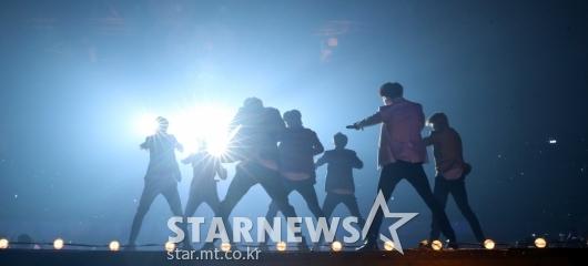 [★포토]'우리는 BTS!'