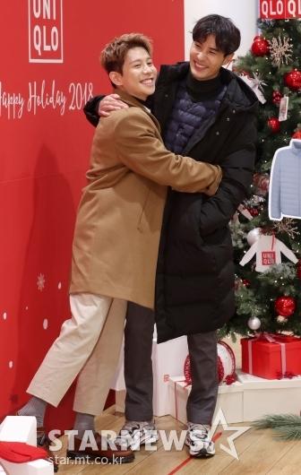 [★포토]박경-김지석, '우리 친해요'