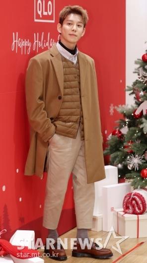 [★포토]박경, '코트를 입어도 스웩'