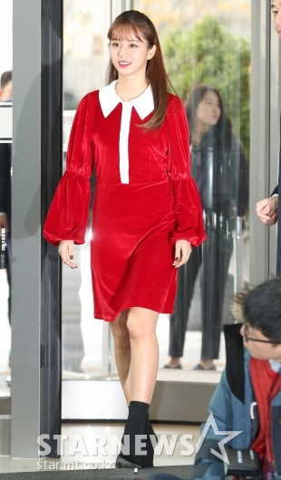 [★포토]혜리, '반짝이는 미녀 산타 등장'