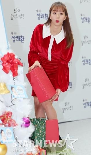[★포토]혜리, '선물을 골라볼까'