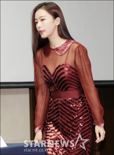 [★포토]홍수현, '떨리는 제작발표회'