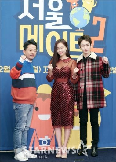 [★포토]김준호-홍수현-키, '서울메이트2' 파이팅!
