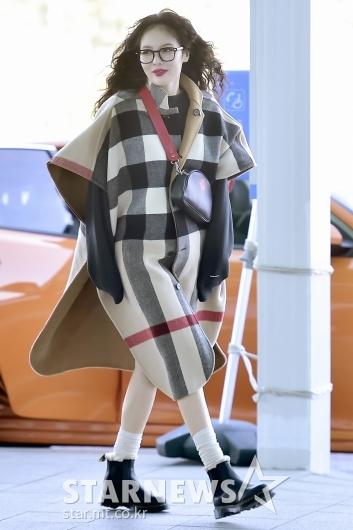[★포토]현아 '패피의 공항패션'