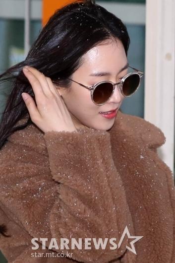 [★포토]서현진 '눈맞은 출국길'