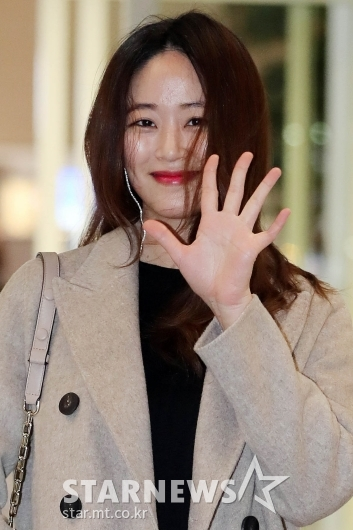 [★포토]김효진 '잘다녀올게요'