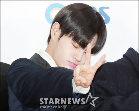 [★포토]이대휘, '눈 감고 브이!'