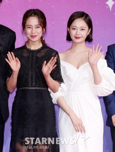 [★포토]송지효-전소민, '흑백으로 완벽한 대비'