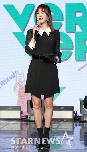 [★포토]박소현, '오늘의 진행 맡았어요'